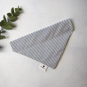 Stripes Bandana Donkerblauw