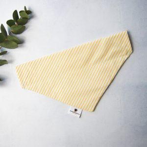 Stripes Bandana Geel