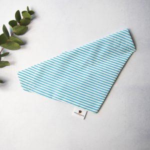 Stripes Bandana Lichtblauw