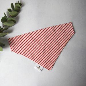 Stripes Bandana Rood