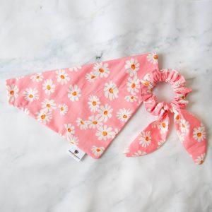 Oops a Daisy srunchie bandana