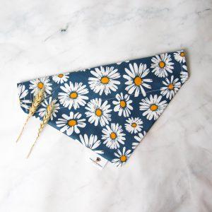 Sweet Daisies Donkerblauw